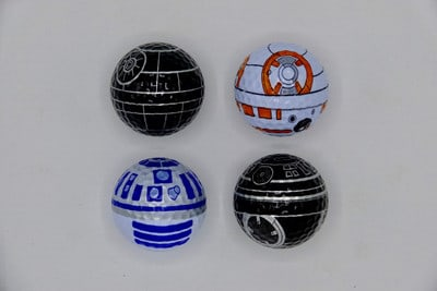 Galactic Novelty Golf Balls