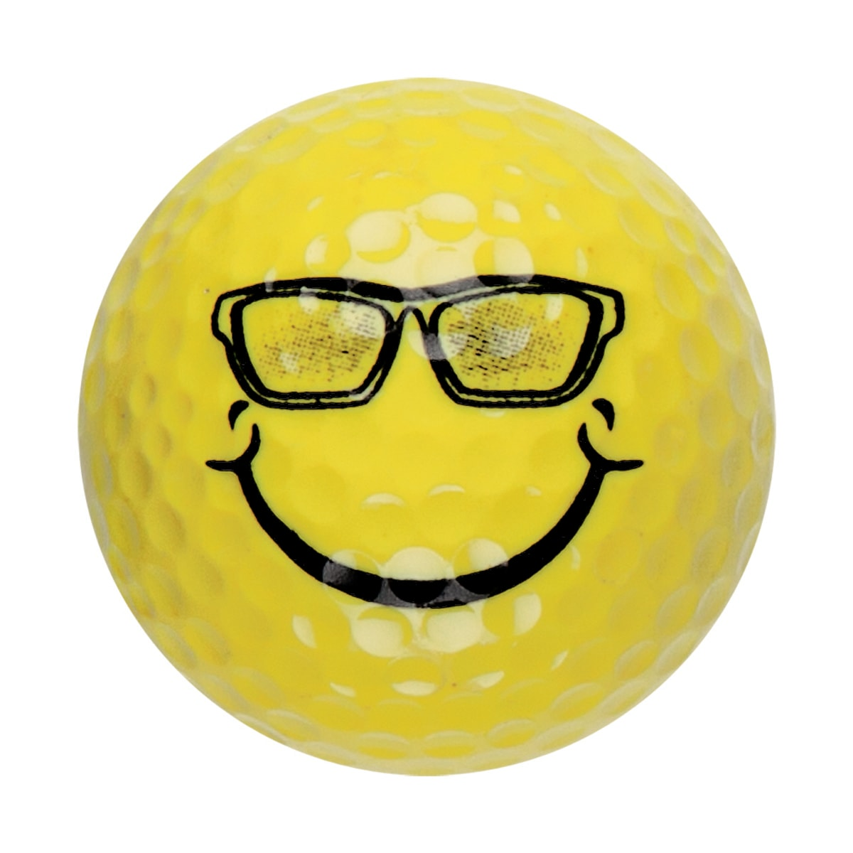 smile sunglasses emoji -mini-putt-ball